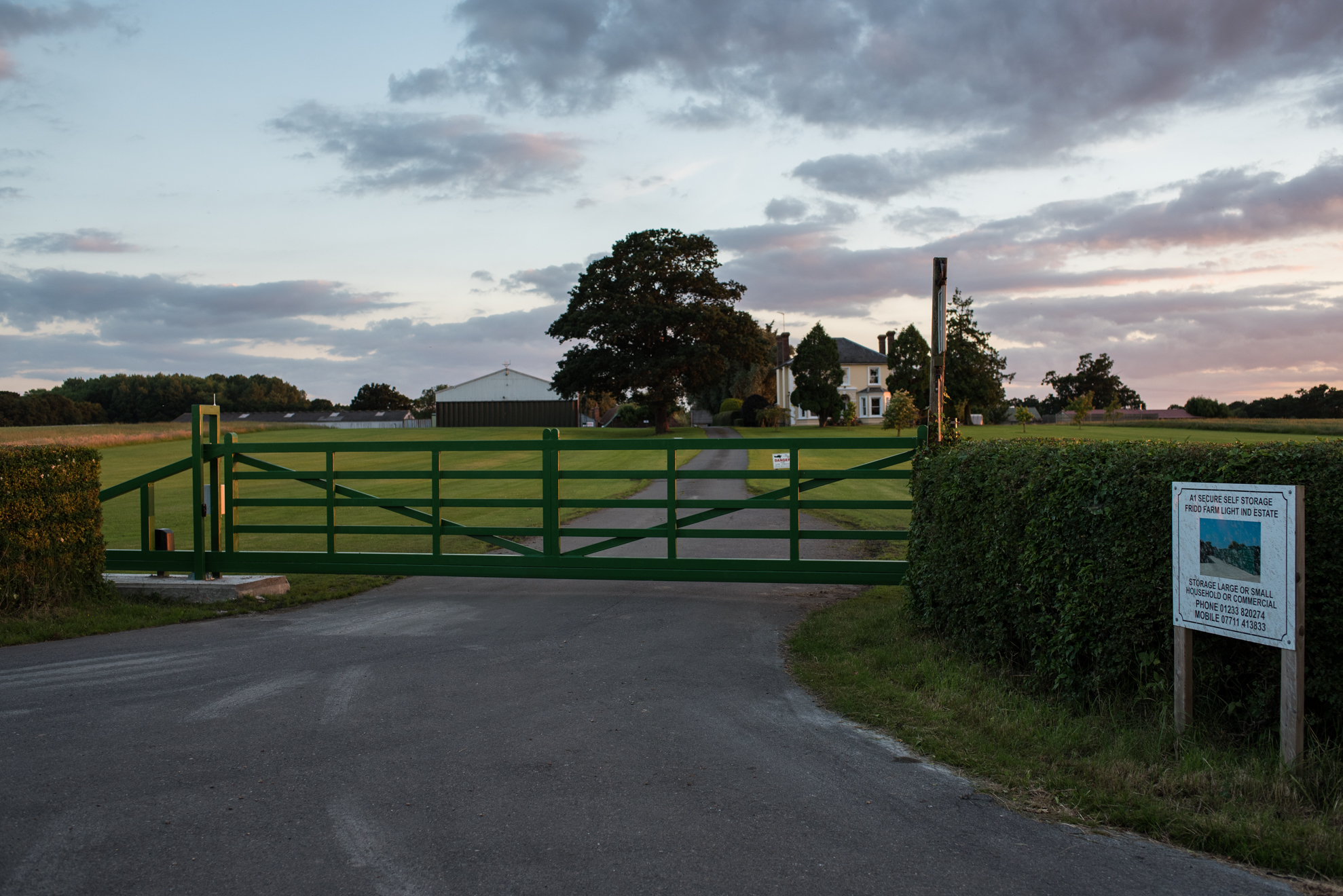 A1 Secure storage security gate